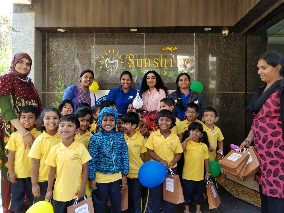 Pediatric Dentist in Whitefield, Bangalore | Sunshine Dental